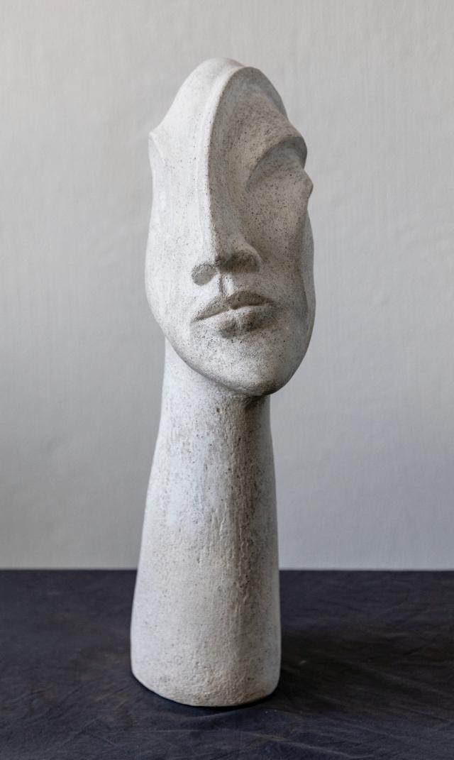 Skulpturen Aus Beton Kunst Aus Beton Kopfe Aus Beton